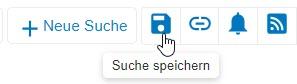 """Screenshot mit eingekreistem Symbol """"Suche speichern"""" in PsycNET"""